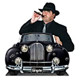 Beistle Gangster Car Photo Property 3 3/4 by 24 1/2-Inch Multicolor
