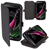 LG Zero / LG Class Hülle Flip Case Schwarz - Moozy®