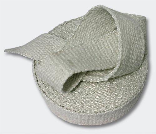 50mm Keramik Hitzeschutzband 10m für Fächerkrümmer& Auspuffanlagen Abgasanlage