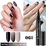 Mitlfuny➤Black Friday & Cyber Monday -80%➤1 Stück 3 in 1 Schritt Nagelgelstift One Step Nagel UV-Temperaturänderungsgel verwenden