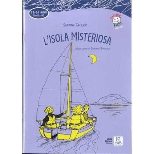 L'Isola misteriosa livre : 11-14 anni (1CD audio)
