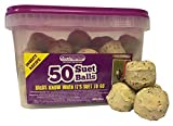 Suet To Go Insect Balls in Tub, 50 x 90 g