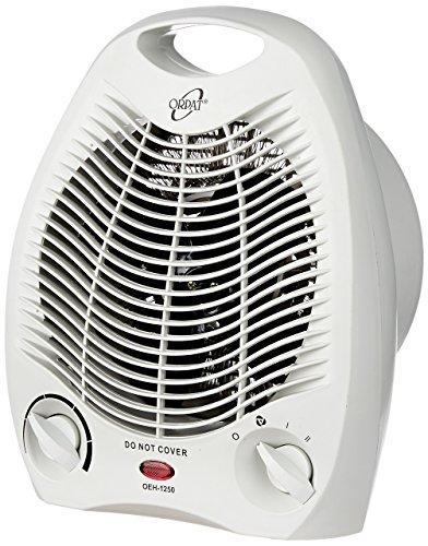 (CERTIFIED REFURBISHED) Orpat OEH-1250 2000-Watt Heater (White)