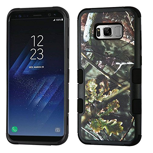 MyBat Kleeblatt Schutzhülle Handyhülle für Samsung Galaxy S8-Schwarz/Gold/Pink