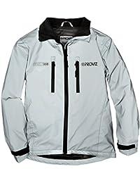 Proviz Reflect 360Niños chaqueta Gris plateado/gris Talla:7-9 años