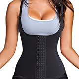 Women's Adjustable Wasit Cincher Shaperwear Fat Burner Sweat Weight Loss Tank Top Suit