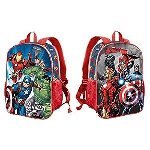 514atK4Y3tL. SS300  - Karactermania The Avengers Force-Dual Rucksack Mochila Infantil 41 Centimeters 14.5 Multicolor (Multicolour)