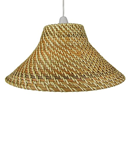 Natural wicker lamp shade factory buy natural wicker lamp shade 15 light brown core brown coolie wicker lampshades c82 by natural wicker lamp shade factory mozeypictures Gallery