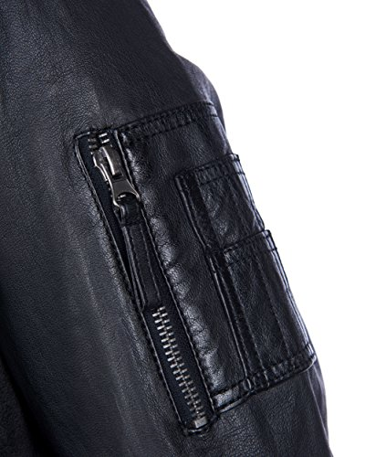 MAZE Lederblouson Inso Black