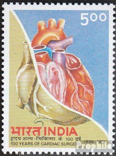 Prophila Collection Indien 1490 (kompl.Ausg.) 1996 Herzchirurgie (Briefmarken für Sammler) Gesundheit