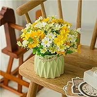 Jhyflower Neues Design Getrocknete Blume Blumenstrauß Künstliche Blume  Simulation Blume Set Ornament Dekoration Wohnzimmer Hause Blume