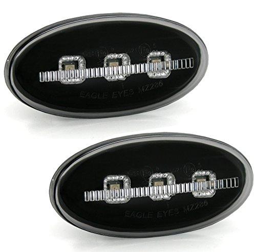 Preisvergleich Produktbild LED Seitenblinker Set in Smoke