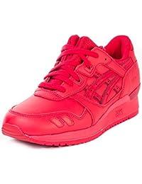 Asics Gel Lyte III-hombres rojos H63QK la zapatilla de deporte 2323