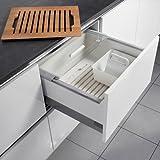 Hailo Pantry Box Küchen-Abfalleimer, Plastik, Weiß One Size