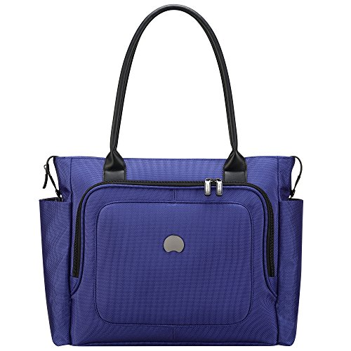 delsey-luggage-cruise-soft-ladies-travel-tote-blue-one-size