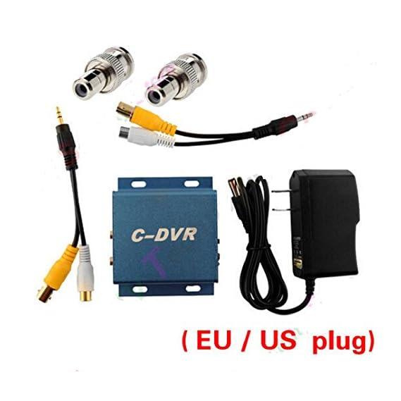 CCTV mini Camera for Micro Video Record plug BNC Male to RCA Female Adapter
