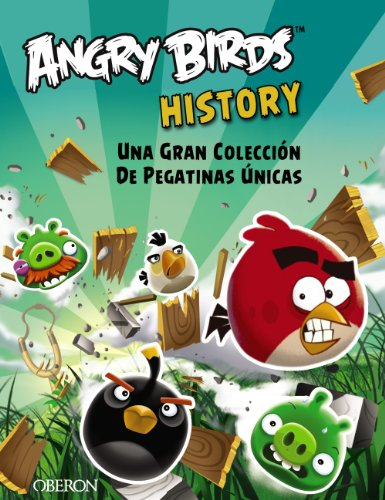 Angry Birds History: Una Gran Colección De Pegatinas Únicas/a Large Collection of Unique Stickers