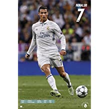Real Madrid FC Maxi Poster 61 x 91,5 cm Real Madrid Ronaldo Plastifié