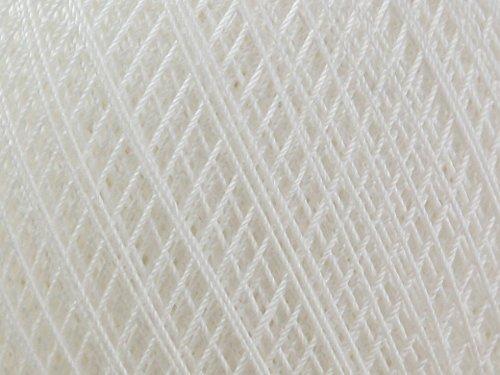 DMC Babylo Cotton Crochet Thread Size 30 Blanc - per 100 gram ball