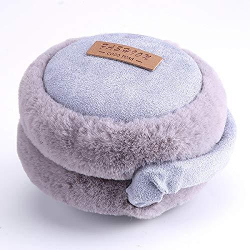 Amorar Ohrenschützer Winter Plüsch Ohrenwärmer Warme Outdoor Folding Earband Earmuffs für Damen Herren Kinder Mädchen Jungen,EINWEG Verpackung