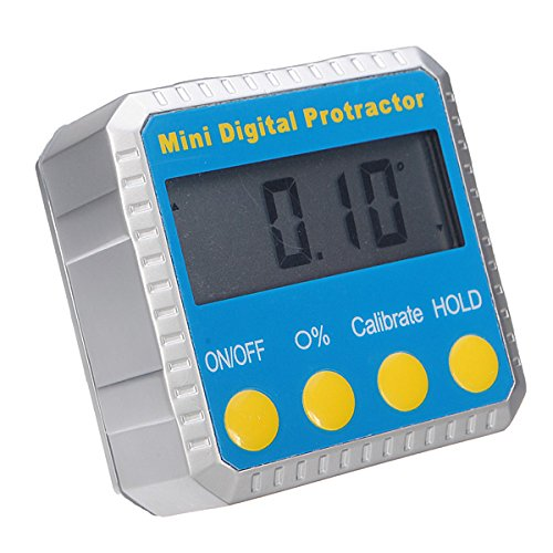 360 Degree Magnetic Digital Protractor InClinometer Angle Finder