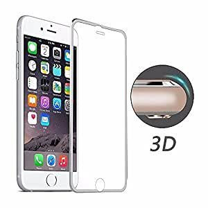 """iPhone 6 Screen Protector, 3D Full Coverage Tempered Glass Screen Protector Cover Edge to Edge for Apple iphone 6 4.7"""""""