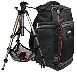 Foto Kamera Tasche Rucksack Sling Set mit Reise Stativ Hercules für Nikon D5500 D5300 D5200 D3300 D3200 D3100