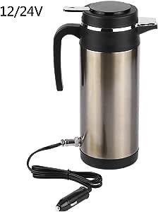 Auto Wasserkocher Thermoskanne Heizung Wasserkocher Wasser 1200 Ml 12 V 24 V Auto Elektrische Heizung Tasse Edelstahl Elektrische In Auto Wasserkocher Thermoskanne Heizung Wasserflasche 12v Auto