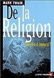 de la religion dieu est il immoral ? de twain mark 1998 poche