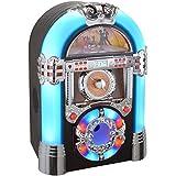 jukebox juke box lecteur cd radio am fm retro annees 60 avec haut parleur high tech. Black Bedroom Furniture Sets. Home Design Ideas