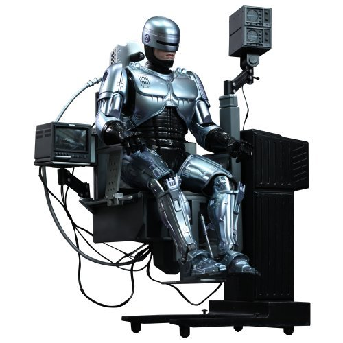[Movie Masterpiece DIECAST Robocop 1/6 scale figure Robocop [with docking station] (secondary shipments) by Hot