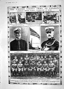 Prince Pays De Galles Italie de Raymond Biddle d'Armée d'Amiral Sims Twining Amérique de 1918 Guerres