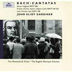 """J.S. Bach: Cantata, BWV 198 """"La� F�rstin, la� noch einen Strahl"""" - 3. Verstummt, ihr holden Saiten"""