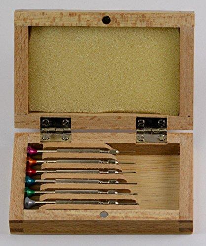 Generic yh-uk3-160920-161yh5958yh Airs Tool Kit 6in h Reparaturen T Uhrmacher watchmake Holz Fall ET 6in W Schraubenzieher Set Screwdriv Uhr Repariert Tool Kit -