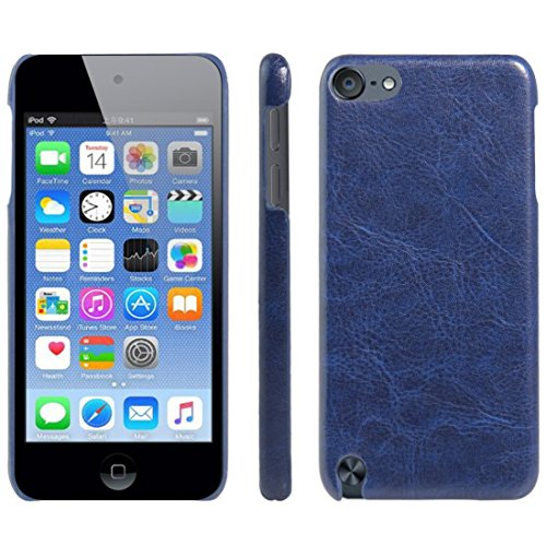 HualuBro iPod Touch 5./6. Generation Fall, iPod Touch 5/6 Schutzhülle, HL Brothers [alle um Schutz] Leder Wallet Flip-Telefon Schutzhülle Für Apple iPod Touch 5./6. Generation Leather Cover Blue