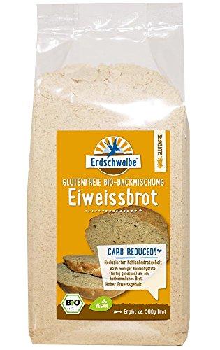 Image of Erdschwalbe Eiweiss-Brot Glutenfrei - Bio-Brotbackmischung. Reduzierter Kohlenhydratgehalt.