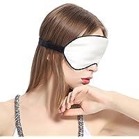 Lilysilk Seide Schlafmaske Reise Augenmaske Polyester Füllung mit Schwarzem Besatz-Elfenbein in Schachtelverpackung preisvergleich bei billige-tabletten.eu