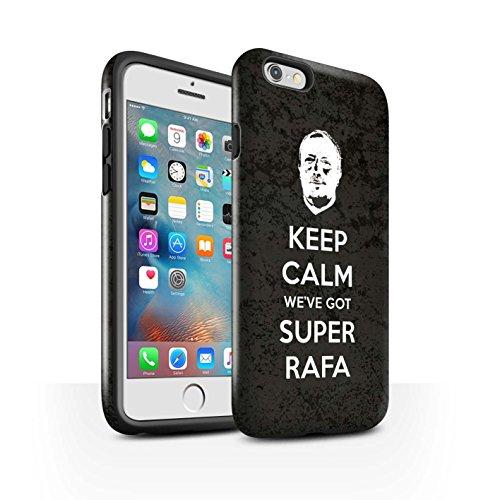 Offiziell Newcastle United FC Hülle / Glanz Harten Stoßfest Case für Apple iPhone 6+/Plus 5.5 / Pack 8pcs Muster / NUFC Rafa Benítez Kollektion Ruhig Bleiben