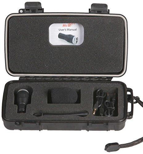 MicW iGoMic Kit mit Stereo-Mikrofon für GoPro Kamera und umfangreichem Zubehör