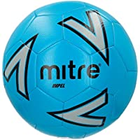 Mitre Impel Training Football Without Ball Pump, Blue, Size 5