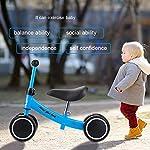 Prima-Bicicletta-Bambina-Senza-Balance-Bike-Regolabile-Equilibrio-Training-Mini-Bike-Scooter-Walker-Scooter-in-Ferro-per-1-2-Anni