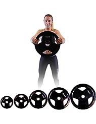 Disques d'haltères Olympiques - Poids Olympiques en fonte - Plaques Olympiques / Au choix de 2,5 à 20 kg / 50 mm