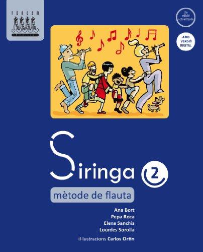 Siringa 2. Mètode de flauta - 9788481319897