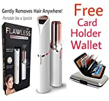 Best Facial Shaver - Hs-Store's Lipstick Shape Electronic Painless Facial Hair Remover Review
