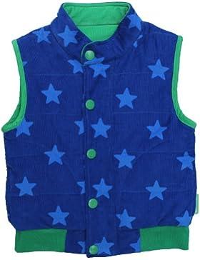 Toby Tiger Jungen Weste Blue Star Cord Gilet