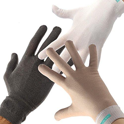 Tepso® Handschuhe Extrastark-Weiß-S gegen Psoriasis / Schuppenflechte und Neurodermitis