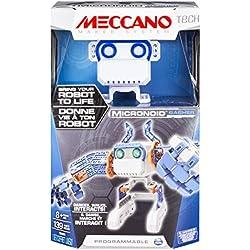Meccano Tech Micronoid - programmable Toys (Batería, Azul, Gris, Naranja, Color Blanco, Caja)