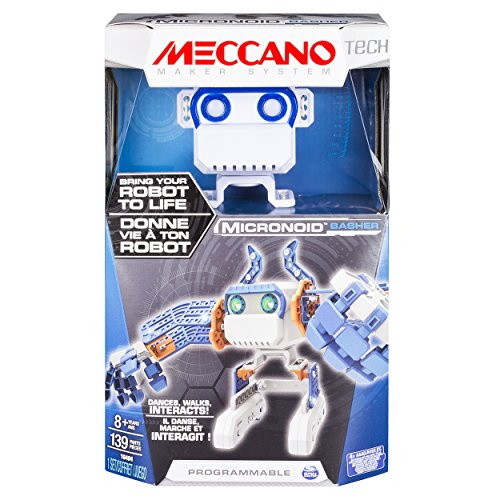 Spin Master 6031224 - Meccano - Micronoid - blau