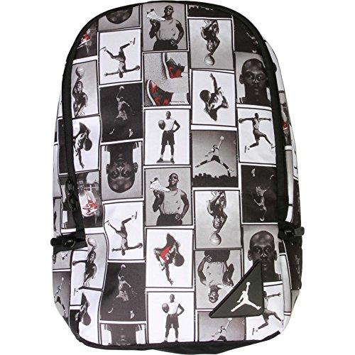 Air Jordan Photo Reels Backpack (Black/White) - Elite-basketball-tasche