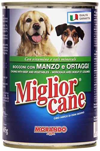 Miglior Cane - Alimento Completo Per Cani, Bocconi Con Manzo E Ortaggi - 405 G